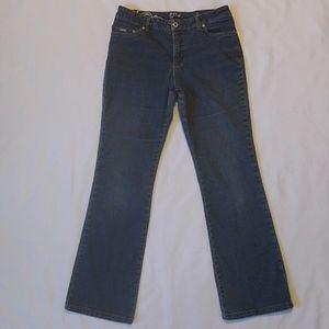 French Dressing Olivia Flair Denim Blue Jeans 6P